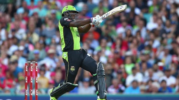 Andre Russell whacked 46 off 20 balls
