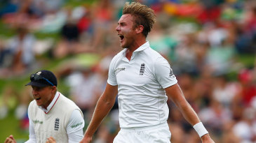 Stuart Broad was outstanding as he collected the first five wickets