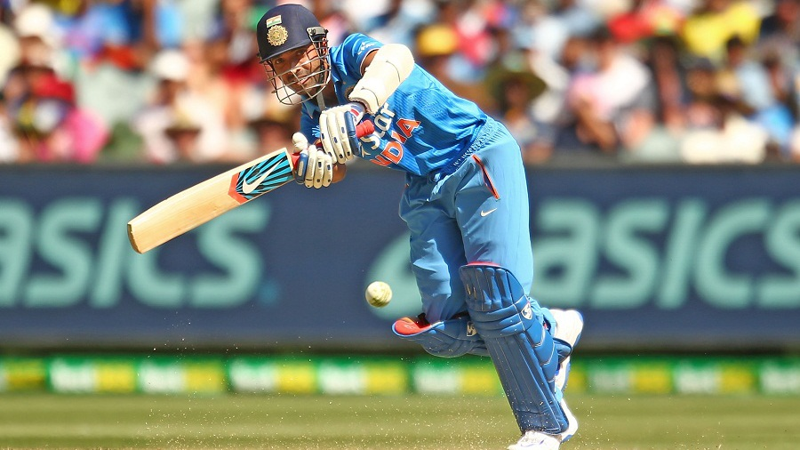 Ajinkya Rahane came in and played second fiddle to Kohli in their 109-run partnership, scoring a 55-ball 50