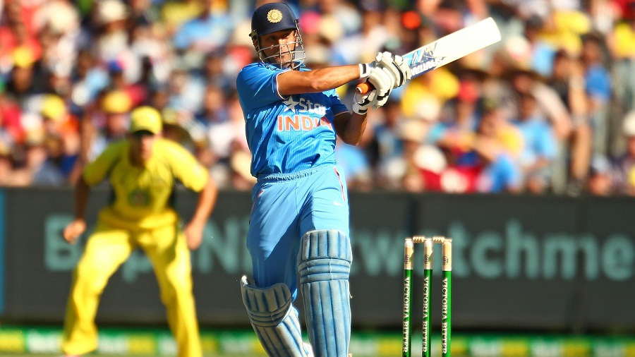 MS Dhoni's late blitz of 23 from 9 gave India some quick late runs, but they couldn't get past 300. They ended on 6 for 295
