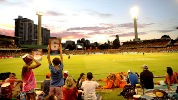 Kids enjoy the day out at the Big Bash