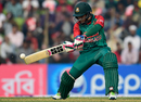 Mushfiqur Rahim shapes up to play a cut through the off side, Bangladesh v Zimbabwe, 2nd T20I, Khulna, January 17, 2016