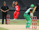 Shbnim Ismail bowls to Mignon du Preez, Melbourne Stars Women v Melbourne Renegades Women, Women's Big Bash League, Melbourne, January 2, 2016