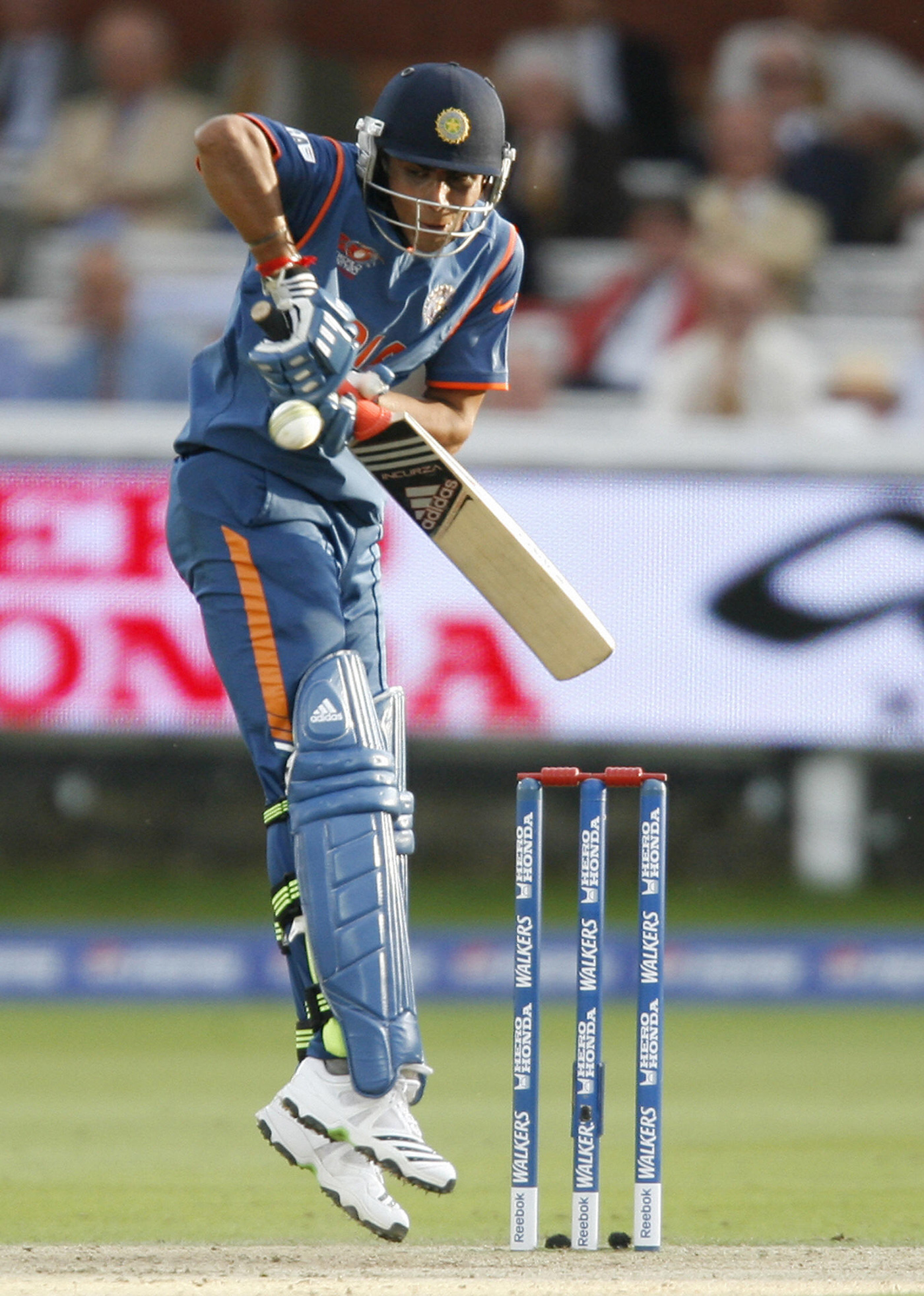 Jump, they said: Jadeja didn't quite shine in the 2009 World T20 against England