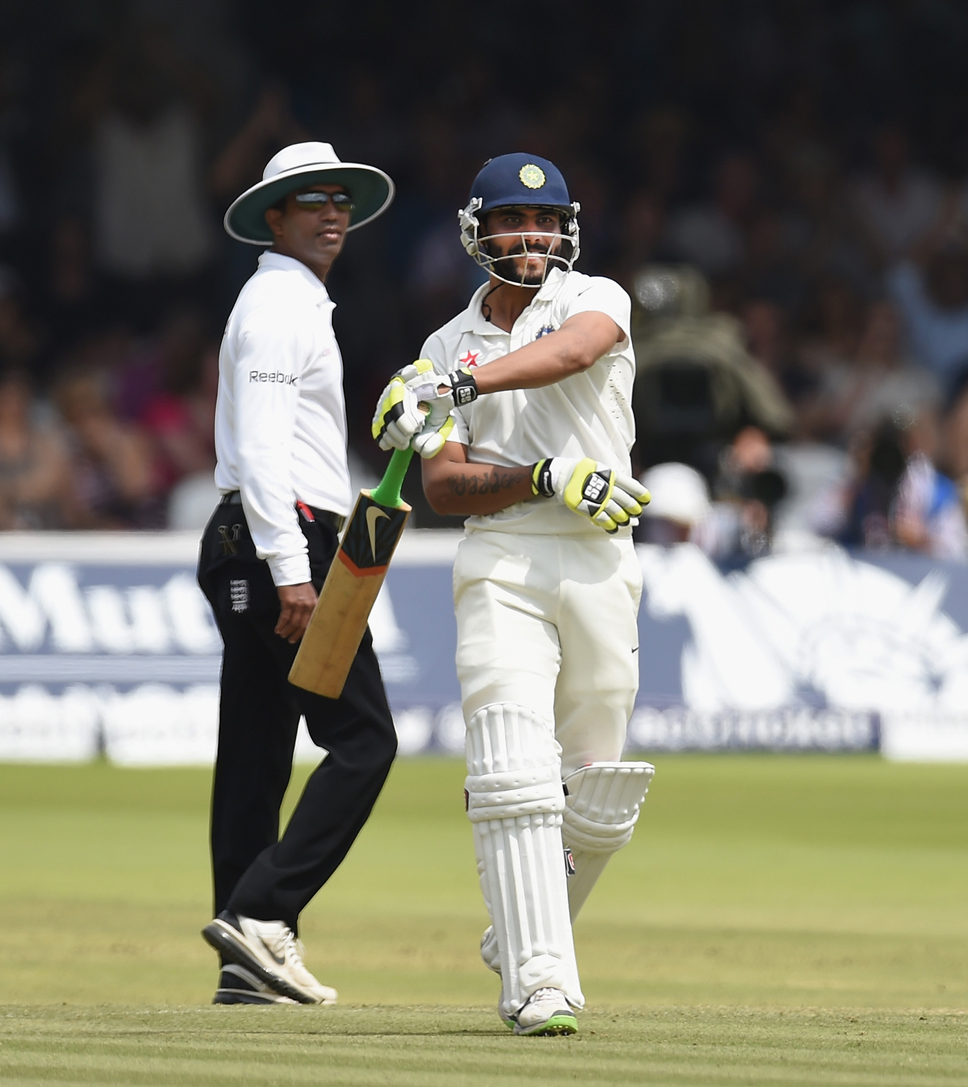Lord's, 2014: out comes the sword