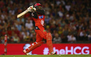 Chris Gayle launches one into the stands, Melbourne Renegades v Adelaide Strikers, BBL 2015-16, Melbourne, January 18, 2016