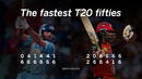 How Yuvraj Singh and Chris Gayle got the fastest T20 fifties, off 12 balls