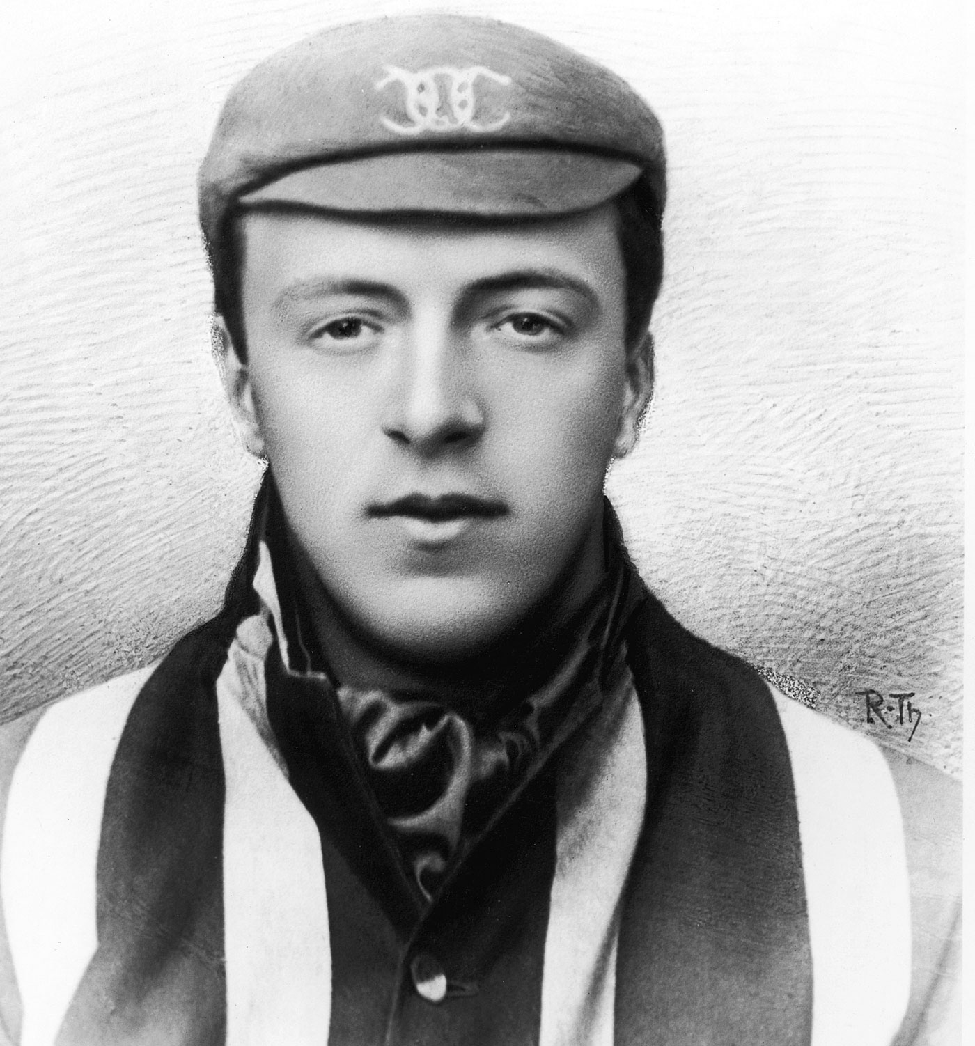 Bernard Bosanquet, the inventor of the googly, which Faulkner learned to bowl from Reggie Schwarz and went on to master, bamboozling many even after his playing days