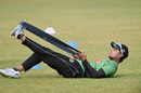 Sabbir Rahman warms up for the third T20, Khulna, January 19, 2016