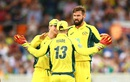 Kane Richardson got the important wicket of Virat Kohli, Australia v India, 4th ODI, Canberra, January 20, 2016