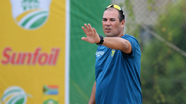 South Africa's coach Russell Domingo is under pressure after a string of poor results