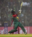 Sabbir Rahman hit a rapid fifty, Bangladesh v Zimbabwe, 3rd T20, Khulna, January 20, 2016