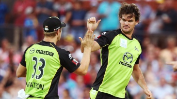 Clint McKay claimed three wickets but conceded 44 runs