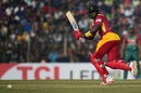 Hamilton Masakadza goes through the leg side, Bangladesh v Zimbabwe, 4th T20I, Khulna, January 22, 2016