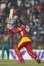 Malcolm Waller chipped in with a handy 36, Bangladesh v Zimbabwe, 4th T20I, Khulna, January 22, 2016