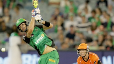 Kevin Pietersen hits down the ground