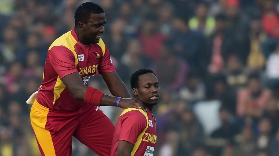Tendai Chisoro and Neville Madziva led Zimbabwe's bowling effort