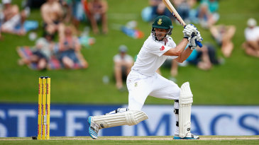 Stephen Cook showed his class on his long-awaited Test debut