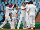 Chris Woakes picked up a wicket in his 14th over, South Africa v England, 4th Test, Centurion, 1st day, January 22, 2016