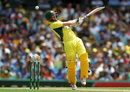 Eyes on the ball: George Bailey tries to pull, Australia v India, 5th ODI, Sydney, January 23, 2016