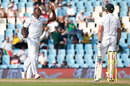 Kagiso Rabada trapped Nick Compton lbw with a ball which grubbed along the ground, South Africa v England, 4th Test, Centurion, 2nd day, January 23, 2016