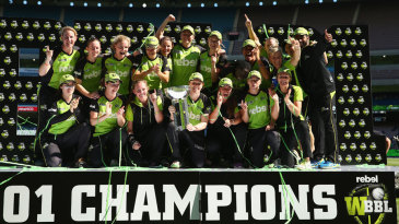 Sydney Thunder won the inaugural WBBL title
