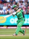 Luke Wright goes big, Melbourne Stars v Sydney Thunder, BBL final 2015-16, Melbourne, January 24, 2016