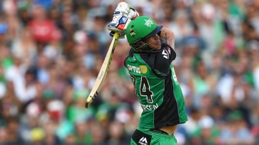 Kevin Pietersen unleashes a full swing