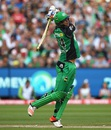 Kevin Pietersen unleashes a full swing, Melbourne Stars v Sydney Thunder, BBL final 2015-16, Melbourne, January 24, 2016