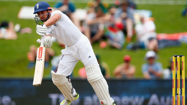 James Taylor struggled before edging a hook shortly before lunch