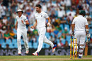 James Anderson struck an early blow when he removed Dean Elgar, South Africa v England, 4th Test, Centurion, 3rd day, January 24, 2016