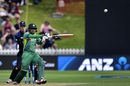 Babar Azam plays a pull, New Zealand v Pakistan, 1st ODI, Basin Reserve, Wellington, January 25, 2016