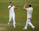 James Anderson picked up two wickets in three balls, South Africa v England, 4th Test, Centurion, 4th day, January 25, 2016