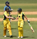 Alex Blackwell and Alyssa Healy lifted Australia with a 59-run stand, Australia v India, 1st Women's T20, Adelaide, January 26, 2016