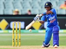 Harmanpreet Kaur smashed a 31-ball 46 to set up India's chase, Australia v India, 1st Women's T20, Adelaide, January 26, 2016