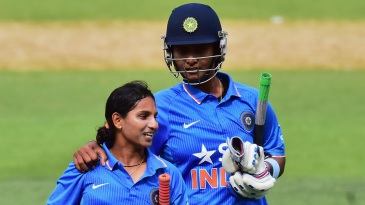 Anuja Patil and Shikha Pandey sealed the chase for India