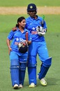 Anuja Patil and Shikha Pandey sealed the chase for India, Australia v India, 1st Women's T20, Adelaide, January 26, 2016