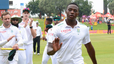 Kagiso Rabada's leads off South Africa after his 13 wickets