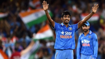 Jasprit Bumrah impressed on T20 international debut as well