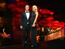 Chris Lynn and Krystal Opperman at the Allan Border medal ceremony, Melbourne, January 27, 2016