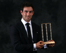 Glenn Maxwell with Australia's ODI Player of the Year Award, Melbourne, January 27, 2016