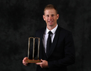 Adam Voges was named Australia's Domestic Player of the Year, Melbourne, January 27, 2016