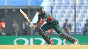 Nazmul Hossain Shanto struck a match-winning fifty for Bangladesh Under-19s