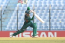 Mehedi Hasan Miraz drives, Bangladesh v South Africa, Under-19 World Cup, Chittagong, January 27, 2016