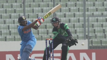 Sarfaraz Khan struck 76 off 70 balls in India Under-19s' win