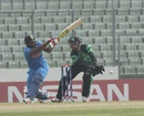 Sarfaraz Khan struck 76 off 70 balls, India v Ireland, Under-19 World Cup 2016, Mirpur, January 28, 2016