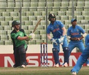 William McClintock used the slog sweep to good effect during his 58, India v Ireland, Under-19 World Cup 2016, Mirpur, January 28, 2016