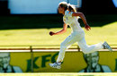 Holly Ferling runs in to bowl, Australia v England, Only Test, Perth, 1st day, January 10, 2014