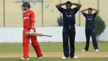Brendan Sly steered Zimbabwe home with an unbeaten 29