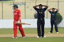 Brendan Sly steered Zimbabwe home with an unbeaten 29, Fiji v Zimbabwe, Under-19 World Cup, Group C, Chittagong, January 29, 2016